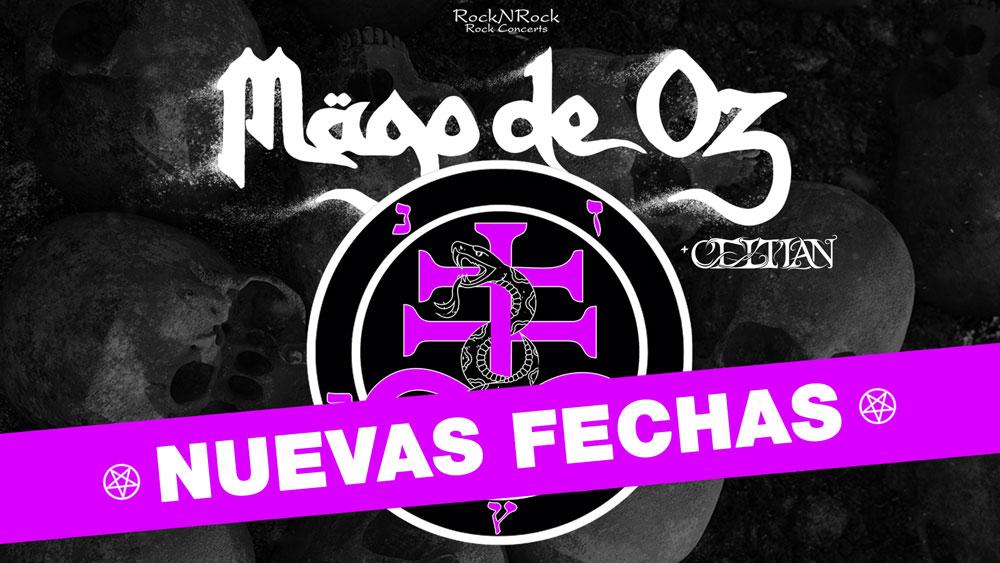 Mago De Oz Cambia Las Fechas De Los Conciertos De Madrid Y Barcelona